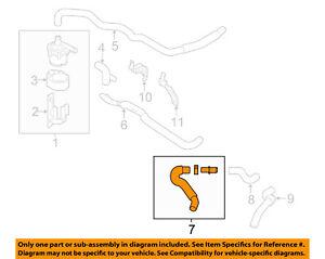 Infiniti NISSAN OEM 12-13 M35h 3.5L-V6-Heater Hose 92400JK200