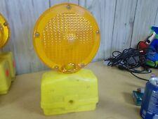 Empco-Lite Orange Yellow Roadside Construction Barrier Light, Blinking 400 847-9