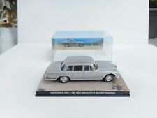 1:43 James Bond Car Collection  MERCEDES 600 SECRET SERVICE   M BOX