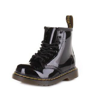 Dr. Martens Toddler Brooklee Patent Lamper Boot Black15373003