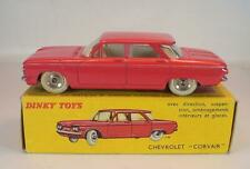 Dinky Toys France 552 Chevrolet Corvair in rare red white interior MIB #6661