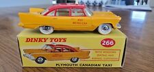 Dinky Toys # 266 Plymouth Canadian Taxi