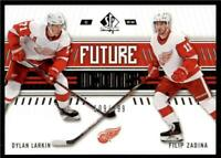 2019-20 UD SP Authentic Base - Future Icons #127 Dylan Larkin/Filip Zadina RC