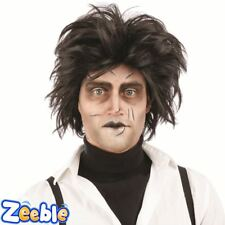 Mens Psycho Wig Edward Scissor Hands Halloween Fancy Dress Outfit Accessory
