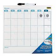 Idena Whiteboard Büroboard Präsentation 355x17x355mm Wandtafel Büro Tafel Board