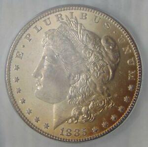 MS66 PL ~ 1885 Morgan Silver Dollar, MIRROR PROOF LIKE, NICE TONING!