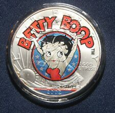 "2019 Silver Eagle Colorized all new /""BETTY BOOP/""  POP 1 of  20"