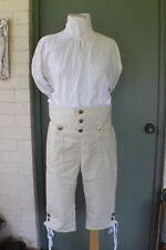 18th Century / Rev War Era Wool Drop Front Breeches