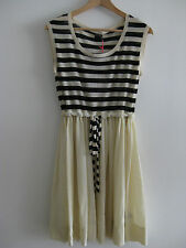 NEW Orla Kiely Striped Wool Knit Silk Dress UK10
