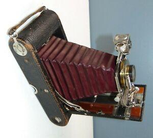 ANTIQUE Camera 3-A FOLDING POCKET KODAK Nice For Display! GREAT CONDITION! Lot C