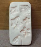 COMBO 3 PUSH MOLDS- AMACO - Cats, Violets and Ivy and 3 Bear Faces Push Molds
