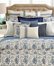 Ralph Lauren Bluff Point Floral Duvet Comforter Cover Blue Beige - Twin - NWT