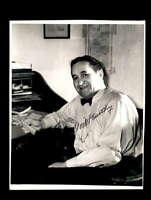 Joe McCarthy JSA Coa Signed 8x10 Photo Autograph
