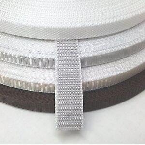Rolladen Gurt Gurtband 10, 12, 14mm Rollladen weiß, grau, beige, braun