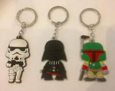 NEW Lot of 3 Star Wars Keyrings - Perfect for loot bags & party favours