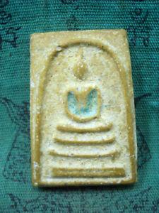 Phra Somdej Toh Nang Phaya Wat Pra Kaew Temple Talisman Old Thai Buddha Amulet