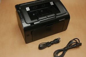 HP LaserJet Pro P1102W Wireless Laser Printer (1886 page, non HP cartridge)