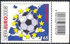 Austria 2008 EURO 2008 Campionati di Calcio/Palla/mappa/stelle/SOCCER 1 V (at1076)