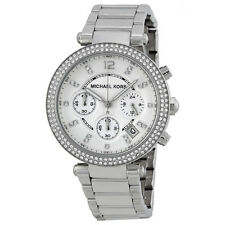 MICHAEL KORS Parker MK5353 Silver Dial Stainless Steel Chronograph Ladies Watch
