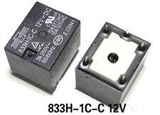 10pcs 5pins 833H-1C-C 12VDC 10A Relay