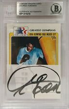 GEORGE FOREMAN Signed Autograph Beckett Slabbed Trading Card Encapsulated