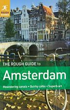 The Rough Guide to Amsterdam by Rough Guides Paperback Book The Cheap Fast Free