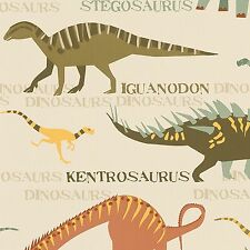 DINOSAURS NATURAL WALLPAPER ROLLS NEW (93633-10) A.S.CREATION ROOM DECOR