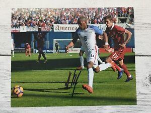 Darlington Nagbe Signed Autographed 8x10 Photo Team USA U.S.A a