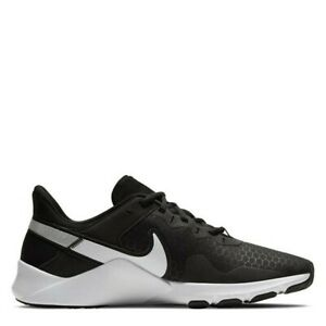Nike Legend Essential 2 Black White Genuine Trainers Casual Shoes UK stock Mens