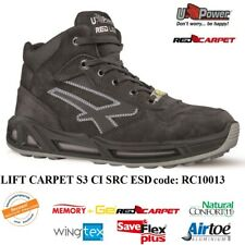 UPOWER SCARPE LAVORO ANTINFORTUNISTICA LIFT CARPET S3 CI SRC ESD U-POWER