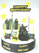 BATMAN Cake Decoration Set  - Cake Topper Figure Decoration Birthday