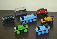 Lot of 7 Thomas Trains Diesel Duncan Toby Thomas Percy Sodor Line Caboose Gordon