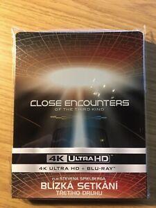 Close Encounters Import 4k UHD Steelbook Blu-Ray