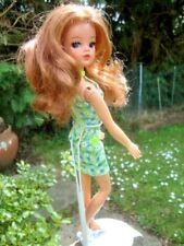 VINTAGE SINDY DOLL RIVET ARMS LONG RED HAIR 1970s