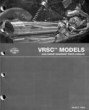 2008 HARLEY-DAVIDSON VRSC V-ROD PARTS CATALOG MANUAL -NEW-VRSCAW-VRSCD-VRSCD