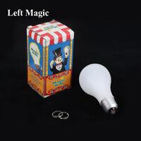 Magic Light Bulb Mentalism Magic Tricks Lamp Ring Close Up Stage Magic Props NEW