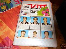 RIVISTA FUMETTO  VITT  NR  14 1969  calcio poster  palermo