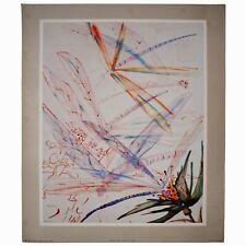 1954 Original Salvador Dali Print Etching Lithograph Albert D Lasker Collection