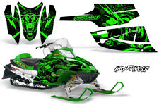 Arctic Cat Firecat Sabercat Graphics Kit Snowmobile Decals Sled Wrap NIGHTWOLF G