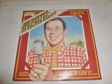 JIM REEVES - 40 Golden Greats - 1975 UK 40-track 2-LP compilation
