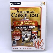 American Conquest Gold Edition PC CD-Rom Game Inc Fight Back Expansion