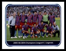 Panini Champions League 2010-2011 2005-06 FC Barcelona Legends No. 558