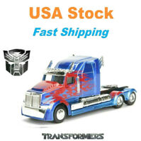 "Transformers 5 Optimus Prime Western Star 5700 XE Phantom,Jada Diecast, 6"", 1:32"