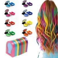 8PCS Unisex DIY Hair Color Hair Chalk Comb Temporary Hair Dye Hair Colors