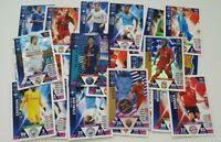 2018/19 Match Attax UEFA Soccer Cards - Lot of 50 cards inc 5 shiny + Limited Ed