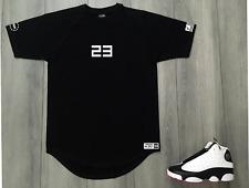 Black T-Shirt To Match Air Jordan 23 New Drop Tail Streetwear Men's Shirts S M L