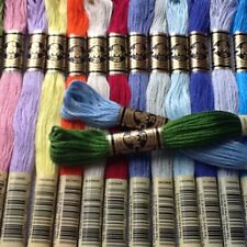 5 DMC CROSS STITCH SKEINS/THREADS  FREE POST PICK YOUR OWN COLORS
