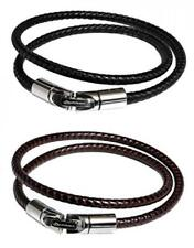 Phiten Bracelet RAKUWA Breath X100 Black / Brown 2 color set 40cm fro Japan*