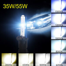 Pair 35W/55W HID Xenon Headlight Conversion Bulbs H1 H3 H7 H11 9005 9006 880/881