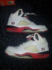 Nike Air Jordan 5 fire red black V 10